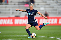 Boyds, MD - Wednesday August 30, 2017: Kristen Hamilton prior to a regular season National Women's Soccer League (NWSL) match between the Washington Spirit and the North Carolina Courage at Maureen Hendricks Field, Maryland SoccerPlex.