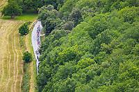 Picture by Alex Whitehead/SWpix.com - 11/07/2017 - Cycling - Le Tour de France - Stage 10, Périgueux to Bergerac - The peloton travel through the village of La Roque-Gageac.