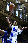 25 November 2014: Duke's Oderah Chidom (22). The Duke University Blue Devils hosted the State University of New York Buffalo Bulls at Cameron Indoor Stadium in Durham, North Carolina in a 2014-15 NCAA Division I Women's Basketball game. Duke won the game 88-54.