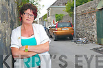 Why would they do this?: Kay McDonnell of the Listowel Natural Health Centre in Listowel, just one of the Church Street businesses that is suffering at the hands of vandals this month as three of her bins were set ablaze outside her premises.    Copyright Kerry's Eye 2008