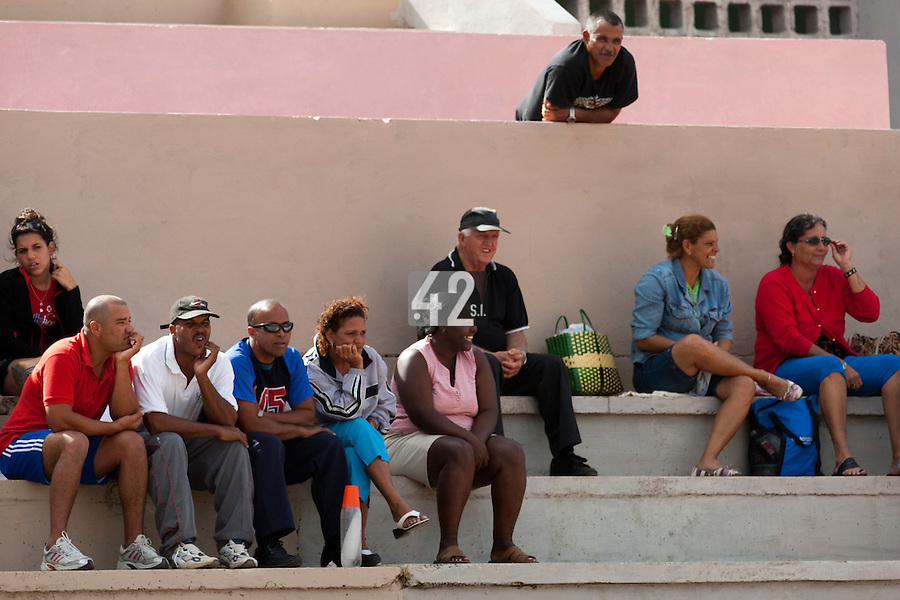 BASEBALL - POLES BASEBALL FRANCE - TRAINING CAMP CUBA - HAVANA (CUBA) - 13 TO 23/02/2009 - FANS (CUBAN)
