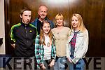 l-r Niall Cullen, Neilus Cullen, Cara Cullen, Bridget Cullen and Amy Cullen. enjoying the An Post BBQ in Benners Courtyard on Saturday