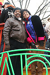 Sesame Street cast at the Macy's Thanksgiving Day Parade on November 27, 2008 in New York City, NY. (Photo by Sue Coflin/Max Photos)