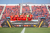 4th February 2020; National Stadium of Chile, Santiago, Chile; Libertadores Cup, Universidade de Chile versus Internacional; Players of Internacional pose for official photo before the match