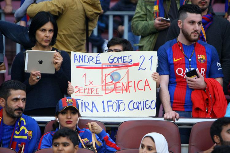 League Santander 2016/2017. Game: 30.<br /> FC Barcelona vs Sevilla FC: 3-0.