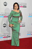 LOS ANGELES, CA - NOVEMBER 18: Gloria Estefan at the 40th American Music Awards held at Nokia Theatre L.A. Live on November 18, 2012 in Los Angeles, California. Credit: mpi20/MediaPunch Inc. NortePhoto
