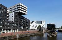 Nieuwbouw bij het Westerdok in Amsterdam