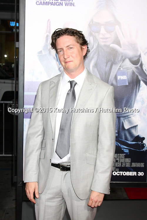 """LOS ANGELES - OCT 26:  David Gordon Green at the """"Our Brand is Crisis"""" LA Premiere at the TCL Chinese Theater on October 26, 2015 in Los Angeles, CA"""