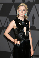 HOLLYWOOD, CA - NOVEMBER 11: Saoirse Ronan at the AMPAS 9th Annual Governors Awards at the Dolby Ballroom in Hollywood, California on November 11, 2017. <br /> CAP/MPI/DE<br /> &copy;DE/MPI/Capital Pictures