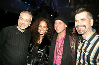Guy Laliberte and creators of <br />  the Cirque du Soleil - DELIRIEM premiere  in Montreal , February 26, 2006<br /> photo : (c) by JP Proulx - Images Distribution