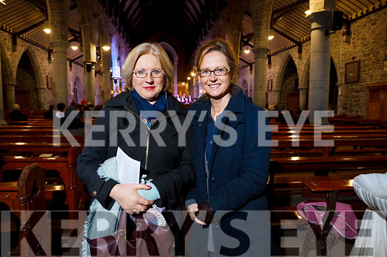 Attending the Kerry Choir recital in St John's Church on Sunday evening are Grainne Hayes and Ann O'Sullivan. of Tralee.
