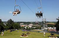 Valkenburg-  Kabelbaan naar de Heunsberg. A GoGo Valkenburg