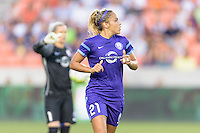 Monica Hickman Alves (21) of the Orlando Pride during a game with the Houston Dash on Friday, May 20, 2016 at BBVA Compass Stadium in Houston Texas. The Orlando Pride defeated the Houston Dash 1-0.