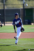 Kenta Maeda - Los Angeles Dodgers 2016 spring training (Bill Mitchell)