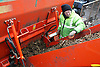 Man working at Farnsfields Materials Management; Manchester,