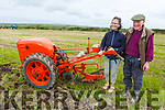 A 75 year old British Anzani Iron Horse plough being used by Francis and Ann Naughton at the ploughing championship in Causeway on Sunday.