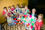 Moyvane Ladies have knitted blankets for the for Chernobyl Collection at MOYVANE Community Centre on Monday. Pictured Supporting the great course was Billy Keane with l-r olive Keane, Bridie Hayes, Gill McCarthy, Eileen Flaherty, Noreen McEvoy, Fiona Corcoran, the Greater Chernobyl Cause,  Eileen Roche