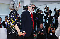 VENICE, ITALY - AUGUST 30: John Landis attends the Opening Ceremony during 74th Venice Film Festival at Palazzo Del Cinema on August 30, 2017 in Venice, Italy. (Mark Cape/insidefoto)