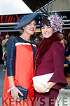 Nollaig McCarthy and Laura Horgan, enjoying Ladies Day at Listowel Races on Friday last.