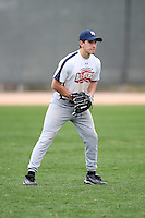 January 17, 2010:  Nick Lacik (Spotsylvania, VA) of the Baseball Factory Atlantic Team during the 2010 Under Armour Pre-Season All-America Tournament at Kino Sports Complex in Tucson, AZ.  Photo By Mike Janes/Four Seam Images