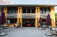 Yeng Keng Mansion Penang - The Peranakans, also known as the Babas and Nyonyas, was a prominent community of Chinese in Penang and other Straits Settlements.  Adopting selected ways of the local Malays and British, the Peranakans created a lifestyle that left a legacy of cultural influences that are still evident in Penang today especially with regards to architecture and cuisine.
