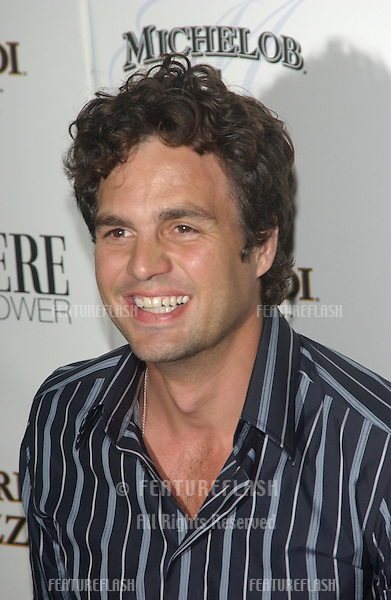 Actor MARK RUFFALO at party in Hollywood for Premiere magazine's Premiere The New Power issue..June 2, 2004