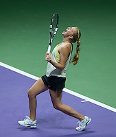 ALLA KUDRYAVTSEVA (RUS)<br /> <br /> The BNP Paribas WTA Finals 2014 - The Sports Hub - Singapore - WTA  2014  <br /> <br /> 22 October 2014<br /> <br /> &copy; AMN IMAGES