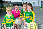 l-r Aidan O'Connor, Kate O'Connor, Lorna Daly and Michelle O'Connor. at Kerry GAA family day at Fitzgerald Stadium  on Sunday