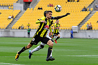 Wellington Phoenix&rsquo; Dario Vidosic in action during the A League - Wellington Phoenix v Melbourne Victory FC at Westpac Stadium, Wellington, New Zealand on Sunday 3 December.<br /> Photo by Masanori Udagawa. <br /> www.photowellington.photoshelter.com