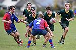 NELSON, NEW ZEALAND - AUGUST 1: Rugby U16 Waimea College v Takaka HS, Waimea College, Nelson, 1st August, New Zealand. (Photos by Barry Whitnall/Shuttersport Limited)