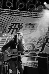 Dream Mall, Kaohsiung -- Bradley Tindall rocking on stage at the 1st Kaohsiung Blues Fest.