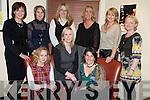 Enjoying Womens Christmas in Lord Kenmares Restaurant, Killarney were Ann Finn, Myra Breen, Lisa Aherne, Patricia Ryan, Martina Cronin, Aisling Schraewer, Sharon O'Connor, Lorraine Kelly and Ann Marie Gammell.