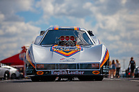 Sep 2, 2018; Clermont, IN, USA; The car of former NHRA funny car driver Tom McEwen during qualifying for the US Nationals at Lucas Oil Raceway. Mandatory Credit: Mark J. Rebilas-USA TODAY Sports