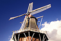 windmill, Netherlands, Holland, Groningen, Delfzijl, Europe