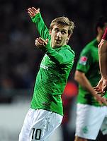 FUSSBALL   1. BUNDESLIGA   SAISON 2011/2012   23. SPIELTAG SV Werder Bremen - 1. FC Nuernberg                   25.02.2012 Marko Marin (SV Werder Bremen)