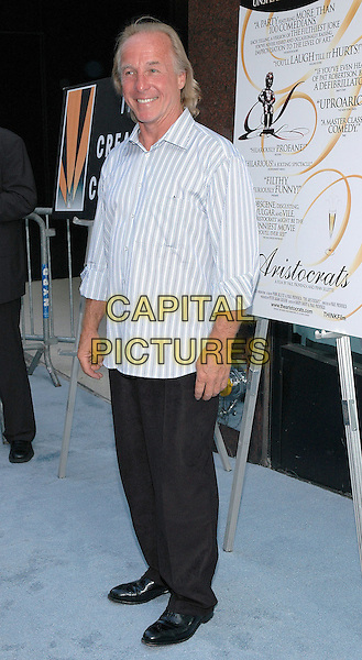"26 July 2005 - New York, New York - Jackie ""The Jokeman"" Martling arrives at the premiere of his new film, ""The Aristocrats"", at The Directors Guild Theater in Manhattan.  .Photo Credit: Patti Ouderkirk/AdMedia"