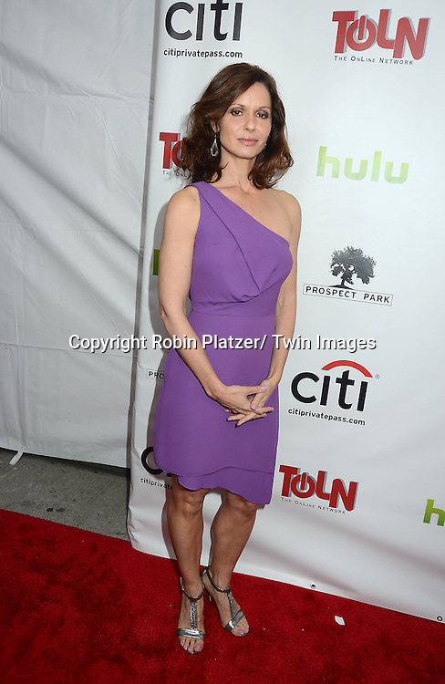 """Florencia Lozano attends the New York Premiere of """"All My Children"""" and. """"One Life to Live """" on April 23, 2013 at NYU Skirball Theatre in New York City. Prospect Park is producing the shows and they will air on www.hulu.com starting on April 29, 2013."""
