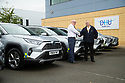 06/09/19<br /> <br /> L/R:  Roy Munson (Toyota Derby), and Paul Cogan (DHU Transport Manager)<br /> <br /> DHU Health Care take delivery of six Toyota RAV 4 at their Derby offices.<br /> <br /> All Rights Reserved, F Stop Press Ltd +44 (0)7765 242650 www.fstoppress.com rod@fstoppress.com