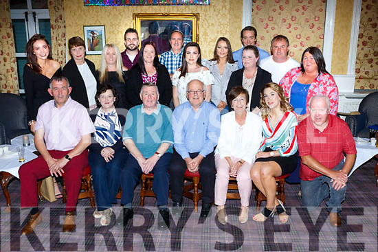 Mikey Bunny Fleming, St Brendans Terrace Killarney celebrated his 60th birthday with his family and friends in the Dromhall Hotel Killarney on Saturday night