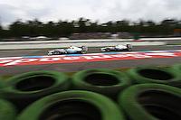 HOCKENHEIM, ALEMANHA, 20 JULHO 2012 - FORMULA 1 - GP DA ALEMANHA -  Os pilotos  Michael Schumacher e Nico Rosberg (GER, Mercedes AMG Petronas F1 Team)  durante o primeiro dia de treinos livres no circuito de Hockenheim nesta sexta-feira, 20. Domingo acontece a 10 etapa da F1 no GP da Alemanha. (FOTO: PIXATHLON / BRAZIL PHOTO PRESS).