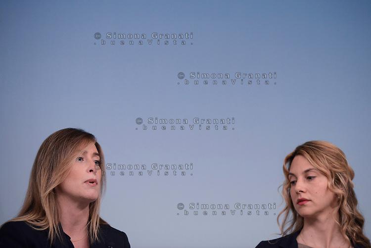 Roma, 15 Giugno 2017<br /> La Sottosegretaria alla Presidenza del Consiglio, Maria Elena Boschi, e la Ministra per la Semplificazione e la Pubblica Amministrazione, Marianna Madia, hanno illustrato, in una conferenza stampa a Palazzo Chigi, la direttiva sul lavoro agile.