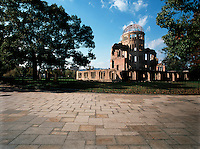 The Peace Dome, atom bomb memorial park, Hiroshima, Japa