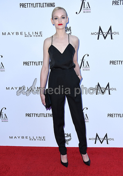 08 April 2018 - Beverly Hills, California - Ginta Lapina. The Daily Front Row's 4th Annual Fashion Los Angeles Awards held at The Beverly Hills Hotel. Photo Credit: Birdie Thompson/AdMedia