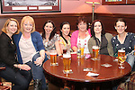 Mary Fagan, Kim Martin, Frances McDonnell, Sarah Everitt, Caroline Moran, Alice Duff and Rosie Condra at the Quiz in Foleys in aid of The Cancer Society and Crumlins Children Hospital...Picture Jenny Matthews/Newsfile.ie