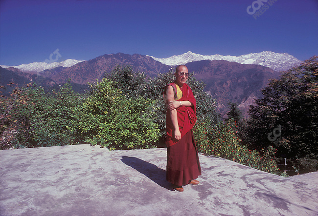 The 14th Dalai Lama, Tenzin Gyatso. Dharamsala, India, November 1979