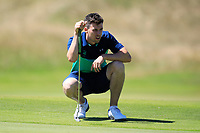 Alex Gleeson (IRL) during the third round of the European Amateur Championship played at the Royal Hague Golf and Country Club, The Hague, Netherlands. 29/06/2018<br /> Picture: Golffile | Phil Inglis<br /> <br /> All photo usage must carry mandatory copyright credit (&copy; Golffile | Phil Inglis)