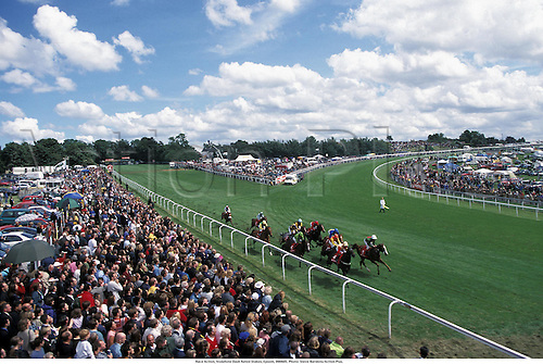 Race Action, Vodafone Dash Rated Stakes, Epsom, 990605. Photo: Steve Bardens/Action Plus....1999.0415.flat .equestrian sports.horse racing