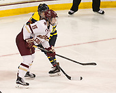 Erin Connolly (BC - 15), Meghan Martin (Merrimack - 10) - The number one seeded Boston College Eagles defeated the eight seeded Merrimack College Warriors 1-0 to sweep their Hockey East quarterfinal series on Friday, February 24, 2017, at Kelley Rink in Conte Forum in Chestnut Hill, Massachusetts.The number one seeded Boston College Eagles defeated the eight seeded Merrimack College Warriors 1-0 to sweep their Hockey East quarterfinal series on Friday, February 24, 2017, at Kelley Rink in Conte Forum in Chestnut Hill, Massachusetts.