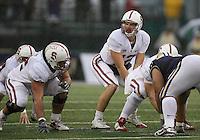 Oct 30, 20010:  Stanford quarterback #12 Andrew Luck sets up under center against Washington.  Stanford defeated Washington 41-0 at Husky Stadium in Seattle, Washington...