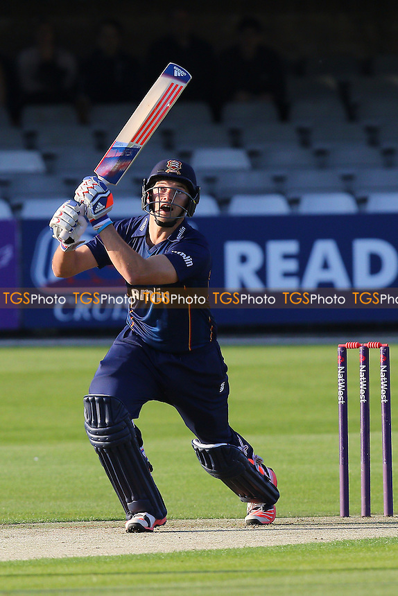 Nick Browne hits four runs for the Essex Eagles - Essex Eagles vs Essex Premier Leagues XI - T20 Cricket Friendly Match at the Essex County Ground, Chelmsford, Essex - 13/05/15 - MANDATORY CREDIT: Gavin Ellis/TGSPHOTO - Self billing applies where appropriate - contact@tgsphoto.co.uk - NO UNPAID USE